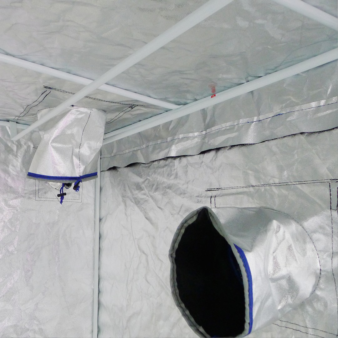 Hydroplanet Mylar Hydroponic Grow Tent For Indoor Plant