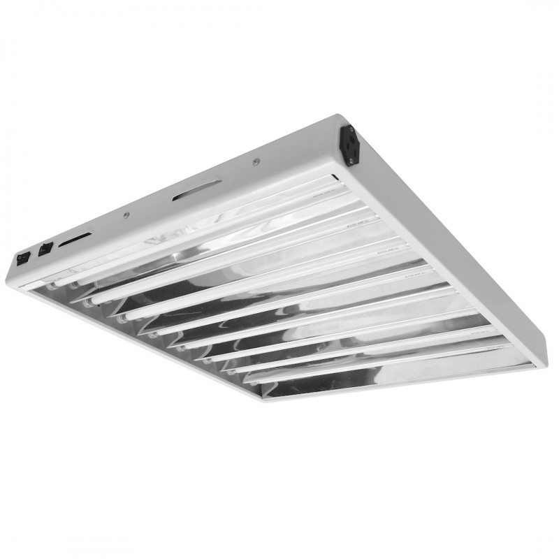 Hydroplanet T5 Growing Fixture 2-FT 8-LAMP Fluorescent