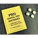 Batteries for PRO pH/TDS pen or Thirsty Light, 1.4V (pack of 4 batteries)