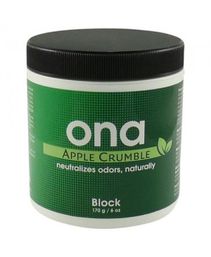 Ona Block Apple Crumble 6 oz (48/Cs)