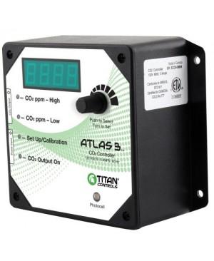 Titan Controls Atlas 3 -  Day/Night CO2 Monitor/Controller
