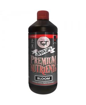 Snoop's Premium Nutrients Bloom B Non-Circulating 1 Liter (Soil and Hydro Run To Waste) (12/Cs)