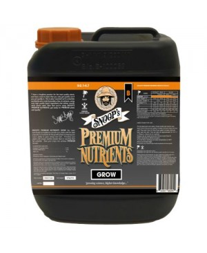 Snoop's Premium Nutrients Grow B Coco 5 Liter (4/Cs)