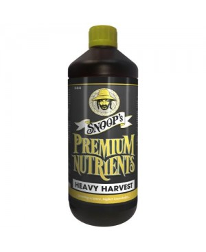 Snoop's Premium Nutrients Heavy Harvest 1 Liter (12/Cs)
