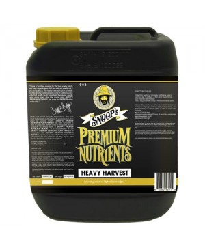 Snoop's Premium Nutrients Heavy Harvest 10 Liter (2/Cs)