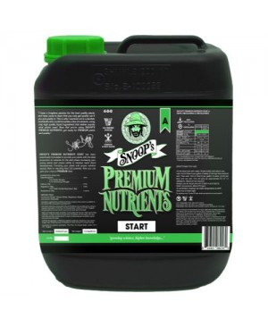 Snoop's Premium Nutrients Start A 10 Liter (Soil, Hydro Run To Waste and Hydro Recirculating) (2/Cs)