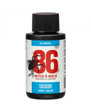 86 Mites and Mold 2 oz Mini Concentrate (Makes 1 Gallon) (12/Cs)
