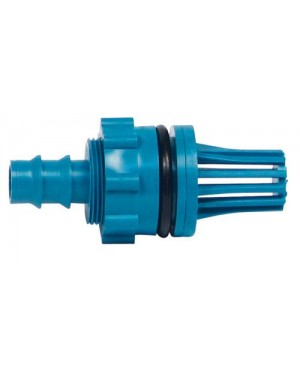 Hydro Flow Fill & Drain Teal Fitting Adapter (1/Bag)