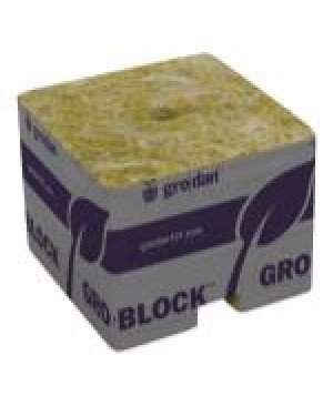 Grodan PRO Starter Mini-Blocks 1.5 in Unwrapped (50/Cs)