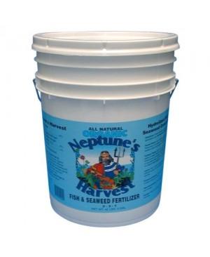 Neptune's Harvest Fish & Seaweed Fertilizer 5 Gallon