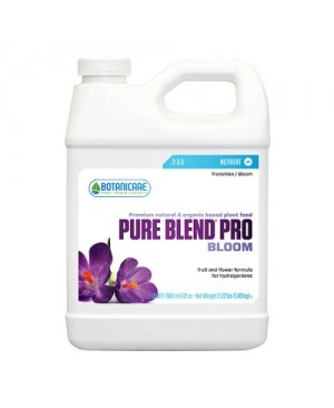 Botanicare Pure Blend Pro Bloom Quart (12/Cs)