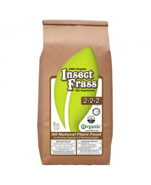 Organic Nutrients Insect Frass 2 lb (12/Cs)