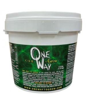 One Way to Grow 2.5 lbs / 1 kg (6/Cs)
