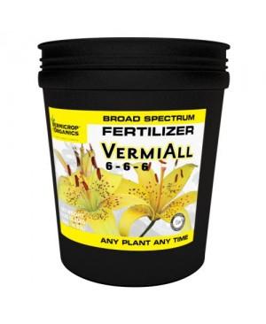 Vermicrop VermiAll Purpose Broad Spectrum Fertilizer 25 lb (1/Cs)
