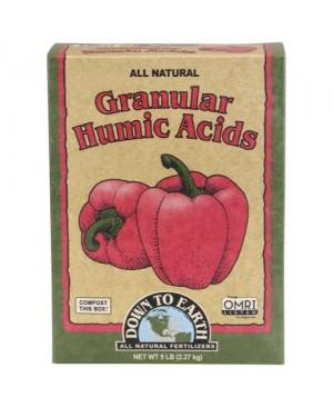 Down To Earth Granular Humic Acid - 5 lb (6/Cs)