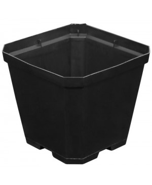 Gro Pro Black Plastic Pot 4 in x 4 in x 3.5 in (960/Cs)