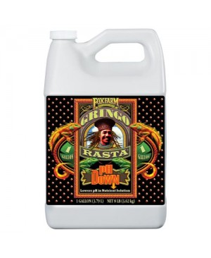 FoxFarm Gringo Rasta pH Down Gallon (4/Cs)