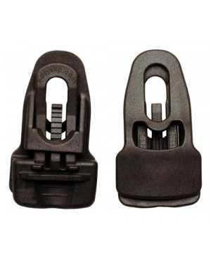 Gorilla Clip Black 4/Pk (1=4/Pk)