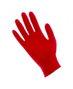 Red Lightning Powder Free Nitrile Gloves Medium (100/Box)