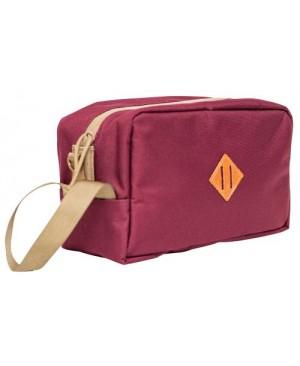 Abscent Toiletry Bag - Crimson