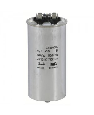 Replacement Capacitors HPS 1000 - 26 MFD 525 Volt (Single/Wet)