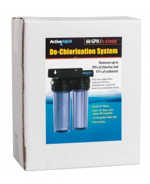 "Active Aqua 10"" Dechlorination System"