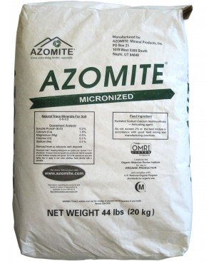 Azomite Micronized Natural Trace Minerals, 44 lbs