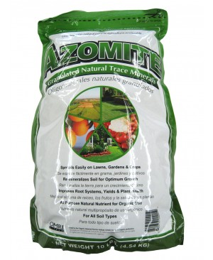Azomite Pelletized Trace Minerals, 10 lbs