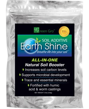 Earth Shine Soil Booster with Biochar, 2 lbs. - A Hydrofarm Exclusive!