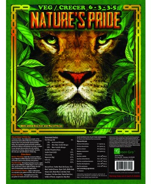 Nature's Pride Veg Fertilizer, 5 lbs