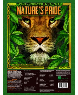 Nature's Pride Veg Fertilizer, 35 lbs