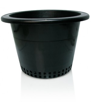 "Round Mesh Bottom Pot w/heavy lip, 10"", bag of 50"