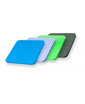 "Neoprene Inserts, 2"", Mixed Colors, 4 sheets of 25 inserts"