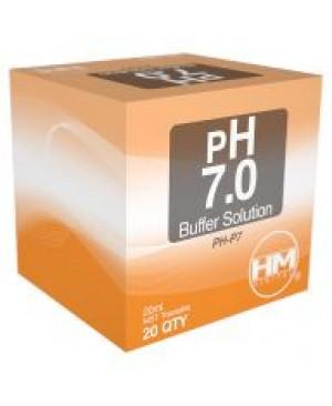 HM Digital pH 7 Buffer Solution, 20 mL, 20 Pack