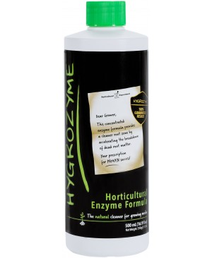 Hygrozyme Horticultural Enzyme Formula, 500 ml