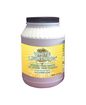 White Lightning Ultra-Concentrate Mycorrhizae, 1 lb